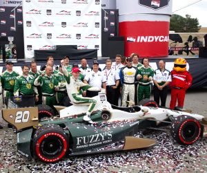 Honda Indy Toronto of IndyCar Series race