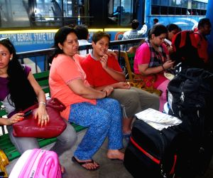 Tourists stranded due to GJM strike