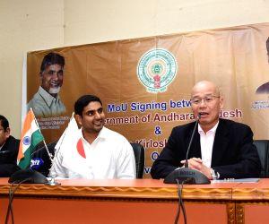 Andhra Pradesh Govt signs MoU with Toyota Kirloskar