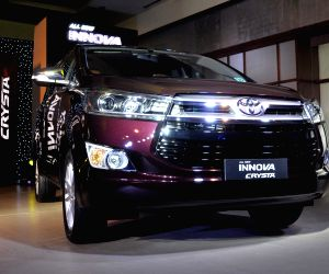 Toyota Kirloskar Motor launches new Innova Crysta