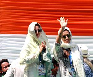Trinamool Congress Martyrs' Day rally - Nusrat Jahan, Mimi Chakraborty