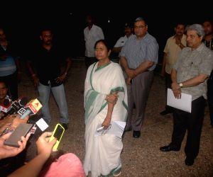 Mamata Banerjee at Raj Bhawan