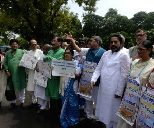 TMC demonstration at Parliament