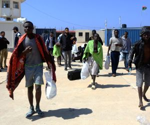 LIBYA TRIPOLI IMMIGRANTS RESCUE