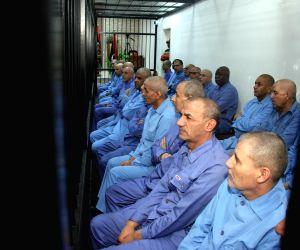 LIBYA TRIPOLI FORMER OFFICIALS TRIAL