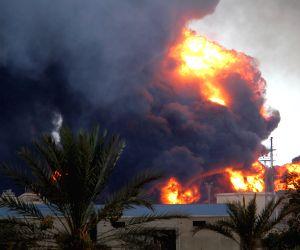 Clash near Tripoli International Airport