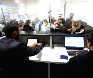 LIBYA TRIPOLI AIRPORT REOPEN