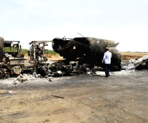 Armed clashes broke out at Libya's international airport in Tripoli