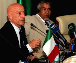 (140717) LIBYA-TRIPOLI-ITALY-PRESS CONFERENCE