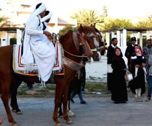 LIBYA-TRIPOLI-TRADITIONAL DRESS