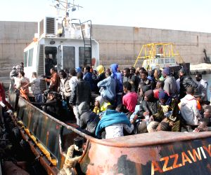 LIBYA ZAWIYAH MIGRANTS RESCUE