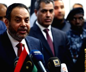 LIBYA-TRIPOLI-MIGRANT RECEPTION CENTERS-PRESS CONFERENCE