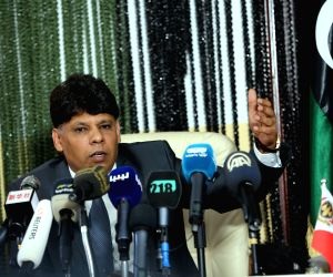 LIBYA-TRIPOLI-INVESTIGATIONS-PRESS CONFERENCE