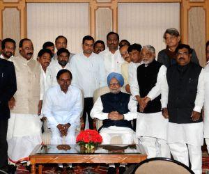 KCR meets PM