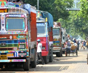 Truck operators on strike against high diesel prices, insurance premiums