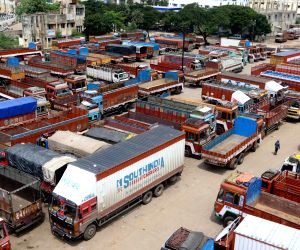 All-India truck, bus strike paralyses transportation