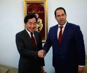 TUNISIA TUNIS ROK PM VISIT
