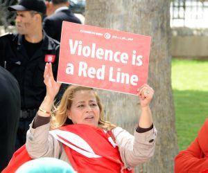 TUNISIA TUNIS FOREIGN LEADERS ANTI TERROR MARCH