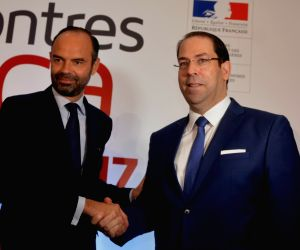 TUNISIA-TUNIS-FORUM-FRANCE-PM