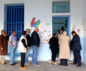 Tunis (Tunisia): Tunisian voters went to polls to elect the country's first president