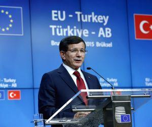 BELGIUM BRUSSELS EU TURKEY SUMMIT