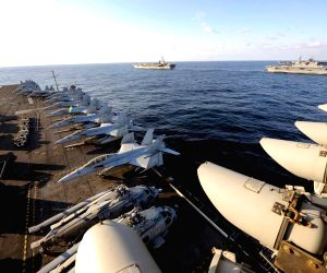 U.S-Japan joint exercise in East Sea