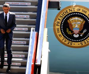 PHILIPPINES PASAY CITY APEC OBAMA ARRIVAL