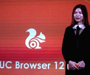 Menurut Shallia Li at the launch of UC browser 12.0