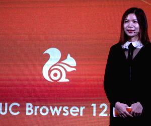 Menurut Shallia Li at the launch of UC browser 12.0