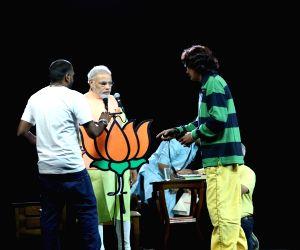 PM Modi - photoshoot
