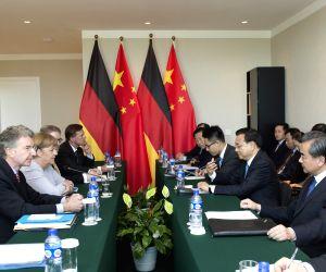 MONGOLIA ULAN BATOR CHINA LI KEQIANG GERMAN MERKEL MEETING