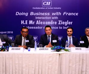 "Session on ""Doing Business with France"