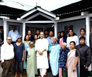 Lawsohtun (Meghalaya) : Radha Mohan Singh visits organic farm in Meghalaya