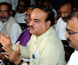 Anant Kumar during BJP party meeting