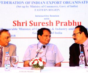 Suresh Prabhu during an interactive session organised by FIEO