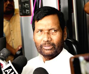 Ram Vilas Paswan inaugurates Gymnasium of Department of Food and Public Distribution