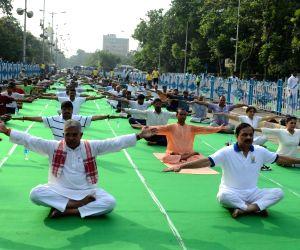 Fourth International Yoga Day celebrations - Mahesh Sharma