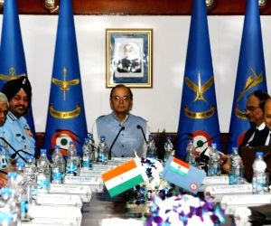 Jaitley at Air Force Commanders' Conference