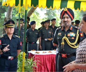 Nirmala Sitharaman visits Army's Western Command Headquarters