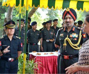 Nirmala Sitharaman visits Army's Western Command Headquarters