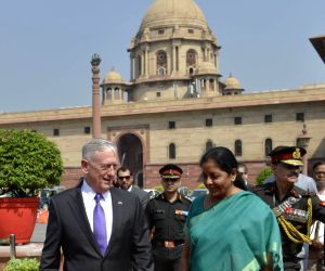US Defense Secretary James Mattis meets Nirmala Sitharaman