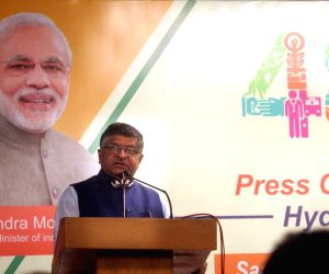 Ravi Shankar Prasad's press conference on '8 Months Of Transforming India