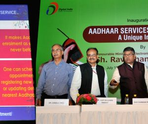 Workshop on Aadhaar Services - Ravi Shankar Prasad