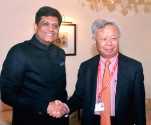 Piyush Goyal meets Asian Infrastructure Investment Bank President