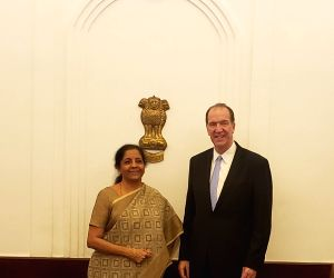 Nirmala Sitharaman meets World Bank President