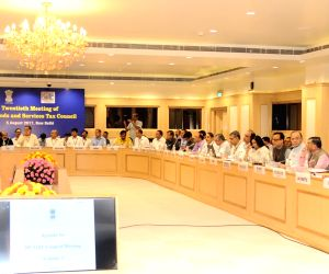 20th meeting of the GST Council- Arun Jaitley