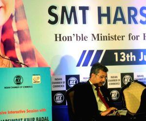 Harsimrat Kaur Badal at ICC programme