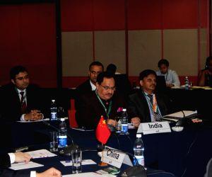 Durban (South Africa) :J.P. Nadda at 8th BRICS Health Ministers' Meeting