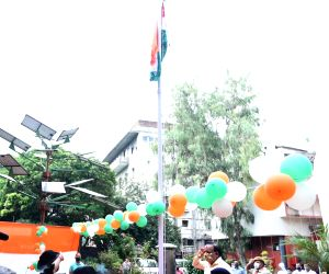 Harsh Vardhan hoists the national flag on 74th Independence Day