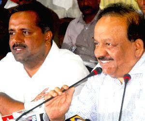 Harsh Vardhan's Press Conference